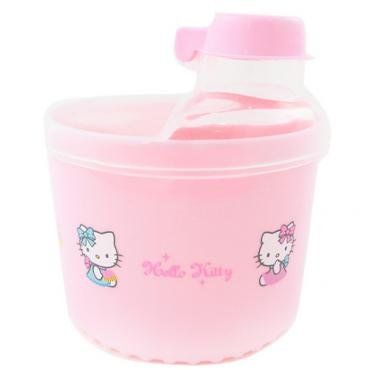 Sanrio Hello Kitty Baby Milk Formula Dispenser / Snack Container Bpa Free (Pink)