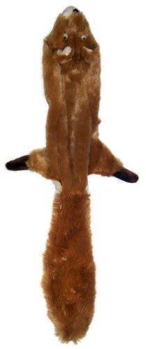Ethical Pet Plush Skinneeez Squirrel 24-Inch Dog Toy