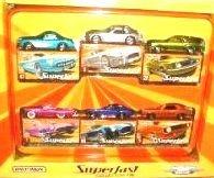 Matchbox Superfast Collector Tin Exclusive Decos 2005. 6 Car Set