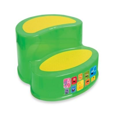 Ginsey Sesame Street ' 2-tier Step Stool - 1