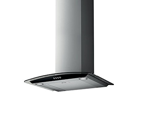 NordMende CHFGLS603IX 60cm Stainless Steel Chimney Cooker Hood With Flat Glass Canopy