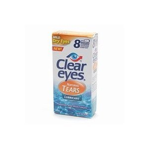 Clear eyes Mild Dry Eyes Natural Tears .5 fl oz (15 ml)