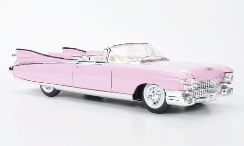 Cadillac Eldorado Biarritz, rosa, 1959, modello di automobile, modello prefabbricato, Maisto 1:18 Modello esclusivamente Da Collezione