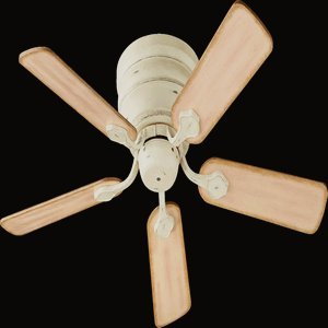 quorum-75445-70-barclay-hugger-persian-white-flush-mount-44-ceiling-fan