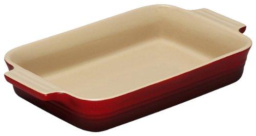 Le Creuset Cerise 26 cm Stoneware Rectangular Dish