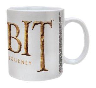 The Hobbit:White Logo Ceramic Mug