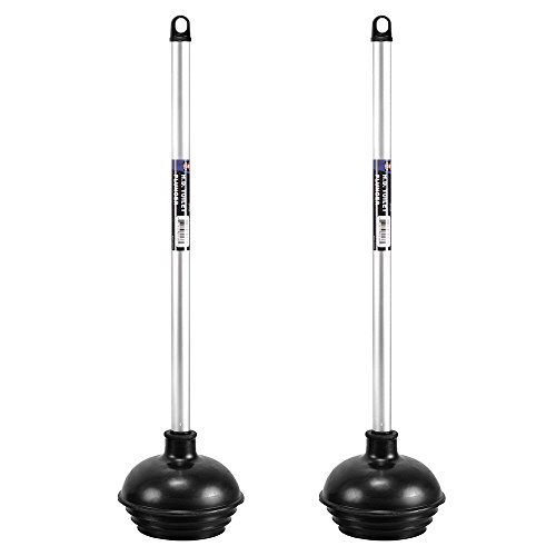 Neiko pro 60170a patented heavy duty all angle power toilet plunger