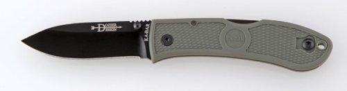 Ka-Bar Dozier Folding Hunter Knife, Foliage Green
