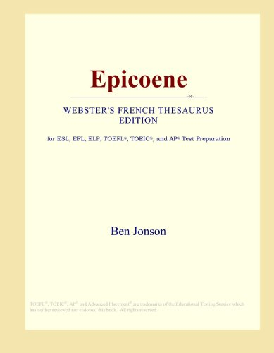 Epicoene (Webster's French Thesaurus Edition)