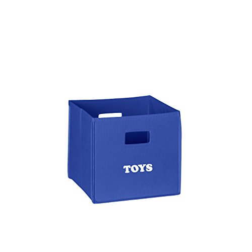 RiverRidge Kids Folding Storage Bin with Print, Multiple Color and Print Options