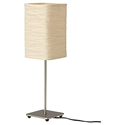 "Ikea 002.322.36 Magnarp Table Lamp 20"", Natural, and E12 7W 315 Lumen LIGHT BULB"