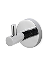 Contemporary Chrome Robe Hook