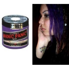 Ultra Violet Amplified Semi-permanent Hair Dye