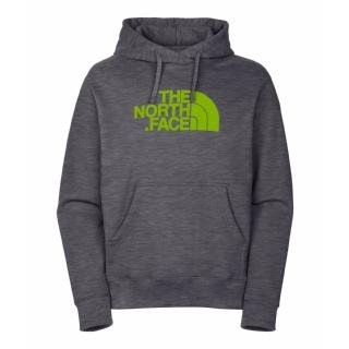 The North Face Mens Half Dome Hoodie Charcoal Grey Heather Size XXLarge Picture