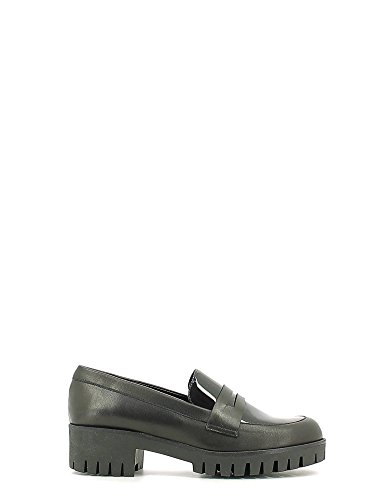 Grace shoes FU11 Mocassino Donna Nero 35