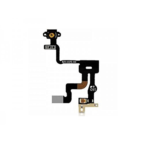 Third Party - Nappe bouton Power iPhone 4S - 0583215024622