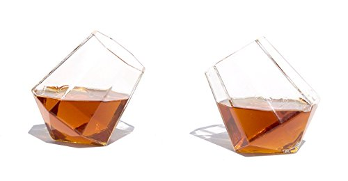 diamond-shaped-whiskey-glass-8-oz-for-bourbon-rum-tequila-scotch-set-of-two