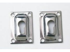 Image of Extra Flush Mount Set for Windline Removable Telescoping Pontoon Boat Ladder (B0000AY2Q3)