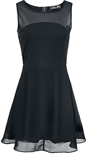 Black Premium by EMP Skater Dress Abito nero XS