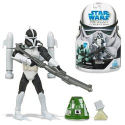 Buy Low Price Hasbro Star Wars Basic Figure:Clone Scuba Trooper (B001DNBGX8)