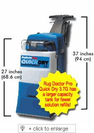 Rug Doctor Wide Track Quick Dry