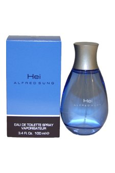 Alfred Sung Hei Eau de Toilette Spray for Men, 3.4 fl oz