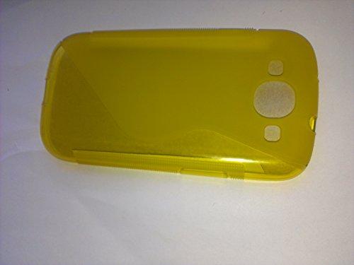 Samsung Galaxy S3 / Samsung Galaxy S3 Neo Schutzhülle S-Line TPU Case Gelb