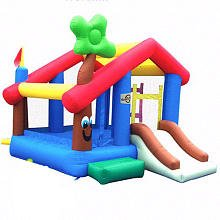 Kidwise My Little Playhouse Bounce House back-805270