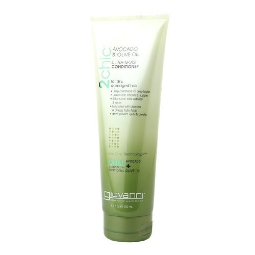 Giovanni Cosmetics 2Chic Avocado and Olive Oil Ultra-Moist Conditioner - 8.5 Oz, by