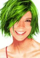 3oz. Can of Temporary Spray In Hair Color (Green)
