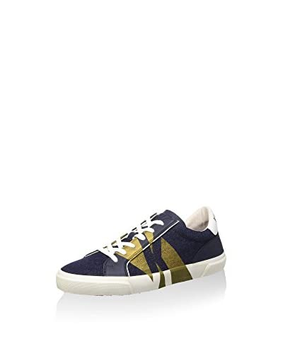 Bikkembergs Sneaker Rubb-Er 669 L.Shoe M Denim/Leather [Blu]