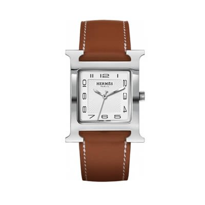 Hermes H Hour Large Quartz Watch - 036833WW00