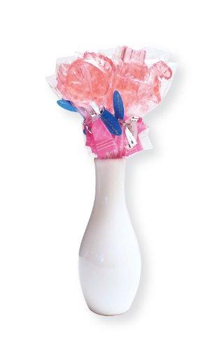 "12 ""It'S A Girl"" Baby Shower Lollipops Centerpiece"