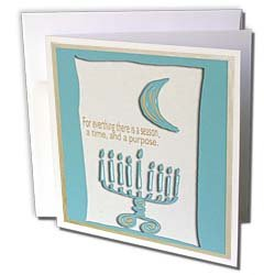 Beverly Turner Hanukkah Design - Hanukkah Menorah