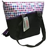 Thermos Insulated Tote Bag, 18 Cans, (Purple & Blue Dots)