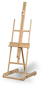 """Professional Artist's Easel Will Hold Large Canvases Up To 70"""""""