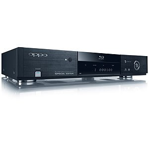 OPPO BDP-83SE - Blu-ray disc player - upscaling - black