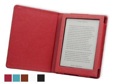 Gecko Covers Deluxe Custodia per Kobo Aura, Rosso