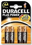 Duracell Plus Power batteries AA Plus 1 case (20 x pack of 4)