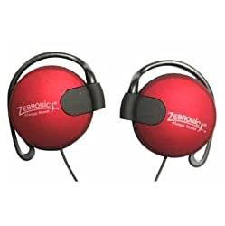 Zebronics ZEB-EM1020 Earphone with Mic (Red)