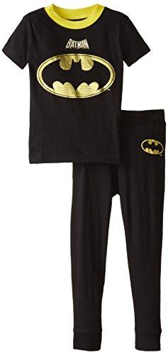 Intimo Little Boys' DC Comics Batman Football Pajamas at Gotham City Store