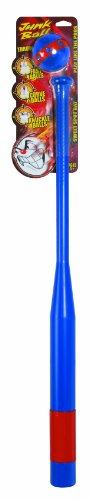 Little Kids Junk Ball Classic Bat and Ball Set (Assorted Colors)