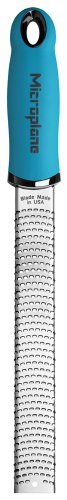 Microplane 46220 Premium Zester/Grater, Turquoise (Microplane Cheese Plane compare prices)