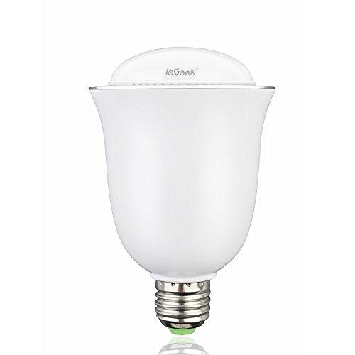 31Ok%2BI6g17L 「ieGeek スピーカー内臓LED電球 H 1002」レビュー!こんな電球見たことない!次世代型LED!
