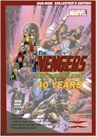 Marvel Comics - 40 Years of The Avengers Comic Books Collectors Edition on DVD-ROM