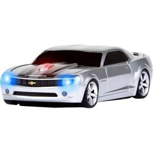 Road Mice Chevrolet Camaro Wireless Mouse - Silver/Black (HP-11CHCCSXK) (Mouse Camaro compare prices)