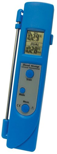 Mastercool 52226 Dual Temp Infrared Probe Thermometer