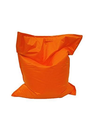 Multicolor Home Puff Grande Quadrata Naranja