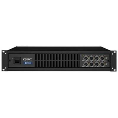 Qsc Audio Cx108v 100 Watt X 8 Channel 70 Volt Amplifier by QSC AUDIO