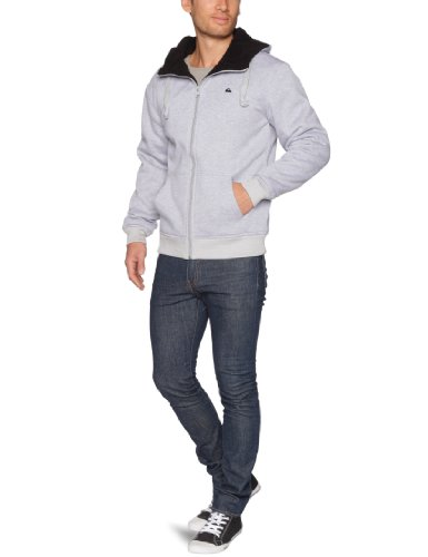 Quiksilver Sherpa-KPMSW933 Men's Sweatshirt Light Grey Heath XX-Large